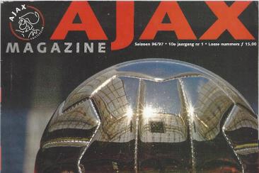 Artikel over de jeugdopleiding, Ajax Magazine