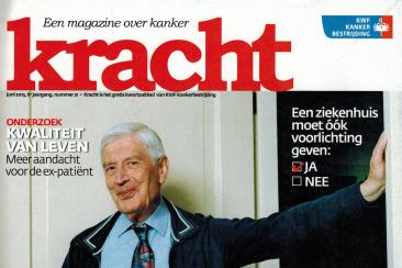 Interviewrubriek 'De Stelling', Kracht (KWF)