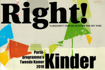 Artikel over kinderrechten, Right! (Defence for children)
