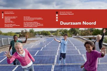 Brochure Duurzaam Noord, stadsdeel Amsterdam-Noord