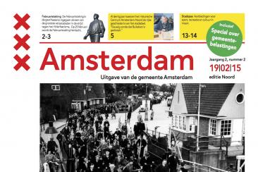 Eindredactie gemeentekrant Amsterdam (editie Noord)