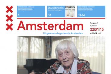 Rubriek voor-tegen gemeentekrant Amsterdam