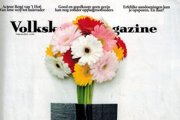 Artikel over de mannenkus, Volkskrant Magazine