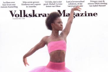 Reportage over doe-het-zelfdorp, Volkskrant Magazine