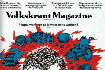 Reportage over parenclub, Volkskrant Magazine