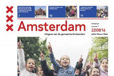 Eindredactie gemeentekrant Nieuw-West, gemeente Amsterdam