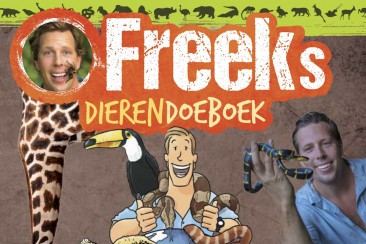Eindredactie Freeks Dierendoeboek, Studio Freek