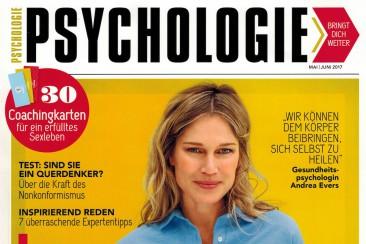Interviewserie vertaald in het Duits, tijdschrift Psychologie bringt dich weiter
