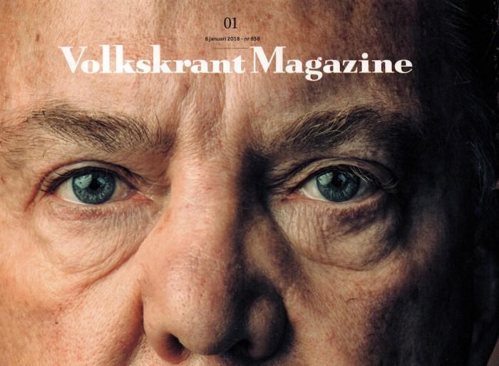 Artikel over stellen die hun jeugdliefde terugvonden, Volkskrant Magazine