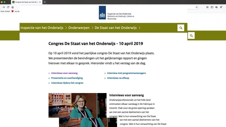 Liveblog Staat van het Onderwijs 2019