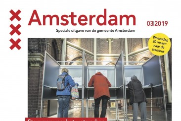 Verkiezingskrant Provinciale Staten, gemeente Amsterdam